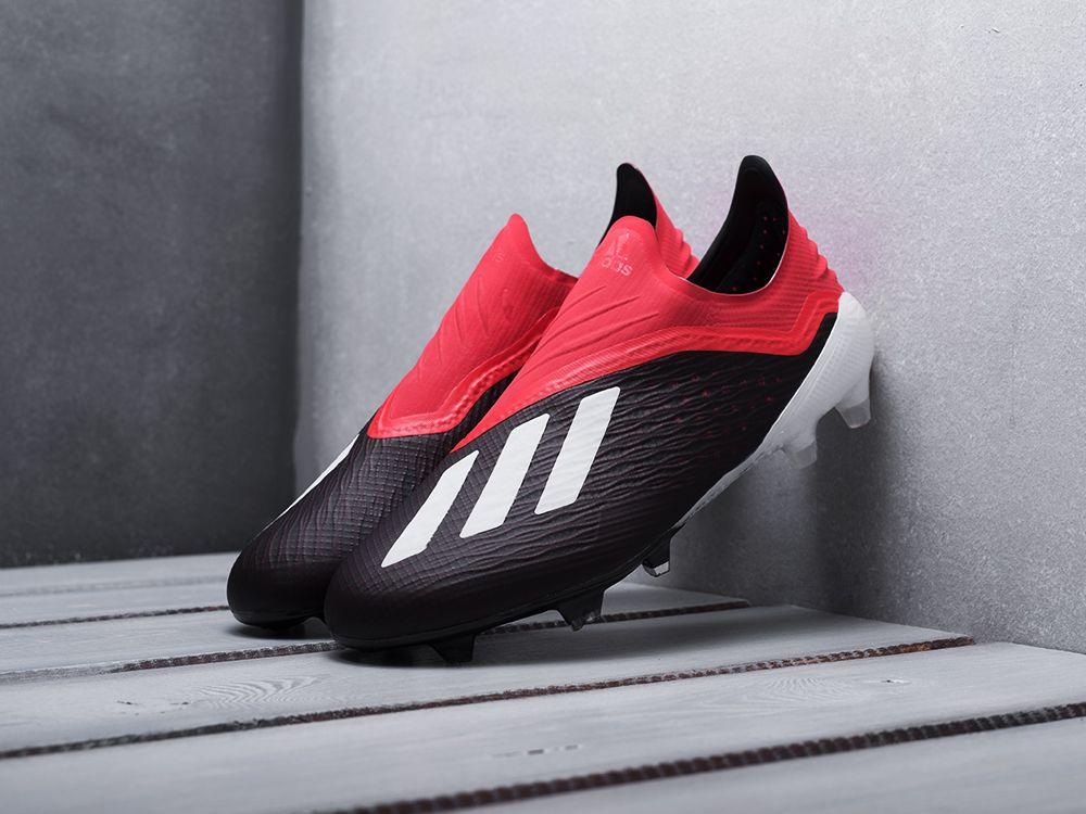 18908bca Купить бутсы Adidas X Tango 18+ FG черные мужские 3103-01 в интернет ...
