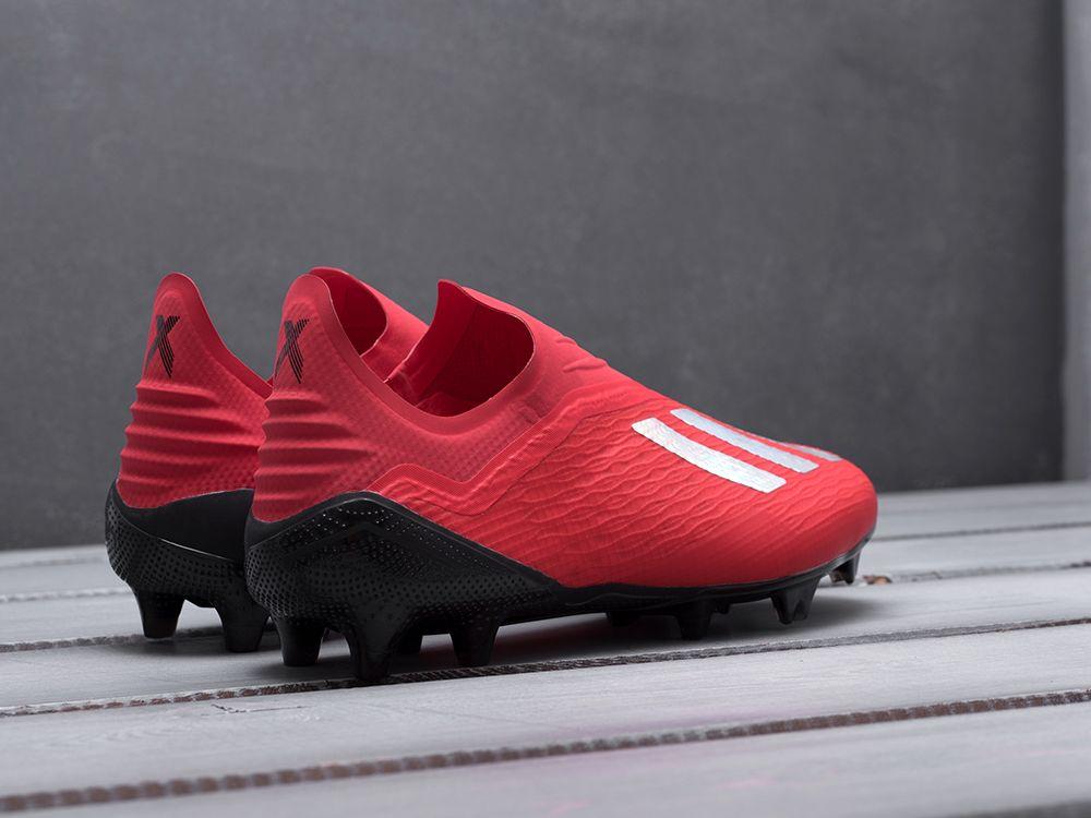 a467f10a Купить бутсы Adidas X Tango 18+ FG красные мужские 3278-01 в ...