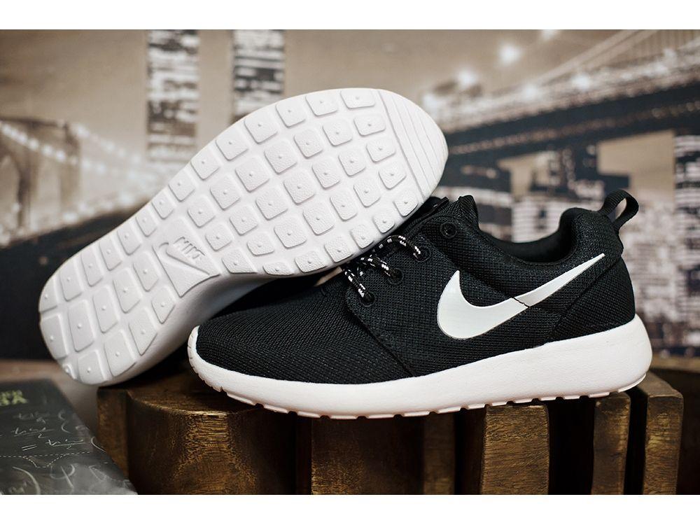 49327f09 Купить кроссовки Nike Roshe Run черные женские 1833-01 в интернет ...