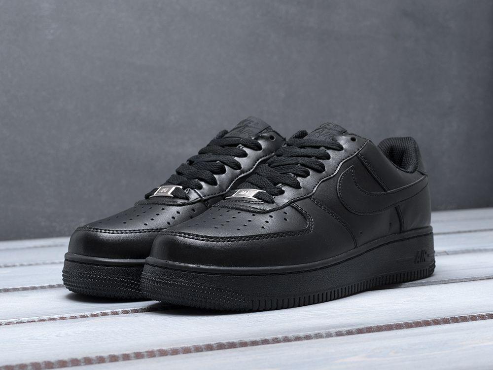 cfb2c616 Купить кроссовки Nike Air Force 1 Low черные женские 3020-01 в ...