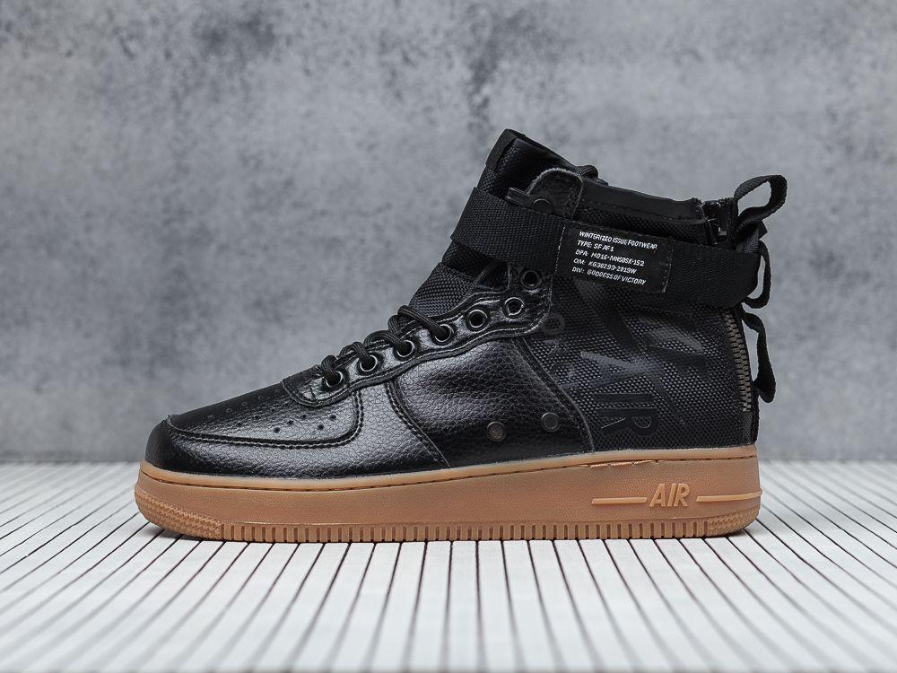 91727f5b Купить кроссовки Nike SF Air Force 1 Mid черные мужские 333-01 в ...