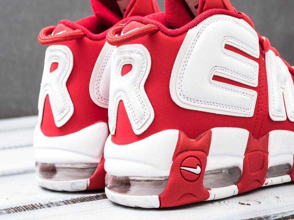 1dc9eebd Купить кроссовки Nike Air More Uptempo красные женские 2174-01 в ...