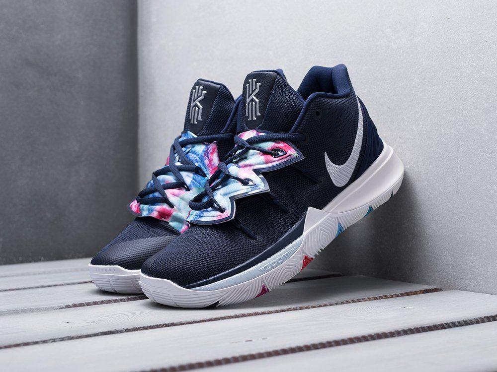 Купить кроссовки Nike Kyrie 5 синие