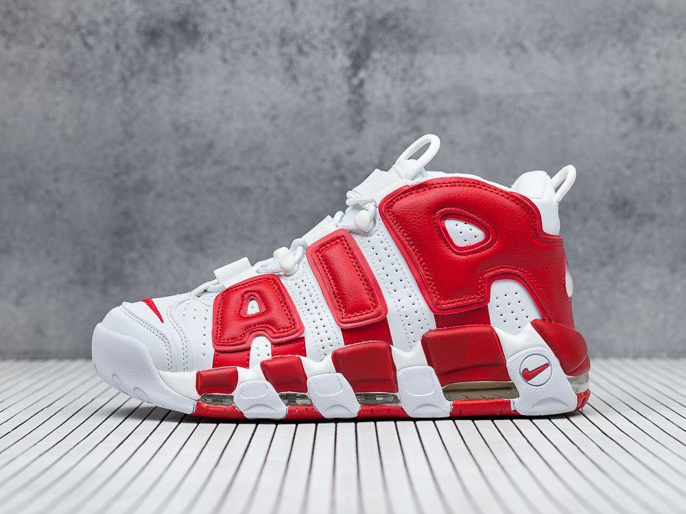 987756f8 Купить кроссовки Nike Air More Uptempo белые мужские 1417-01 в ...