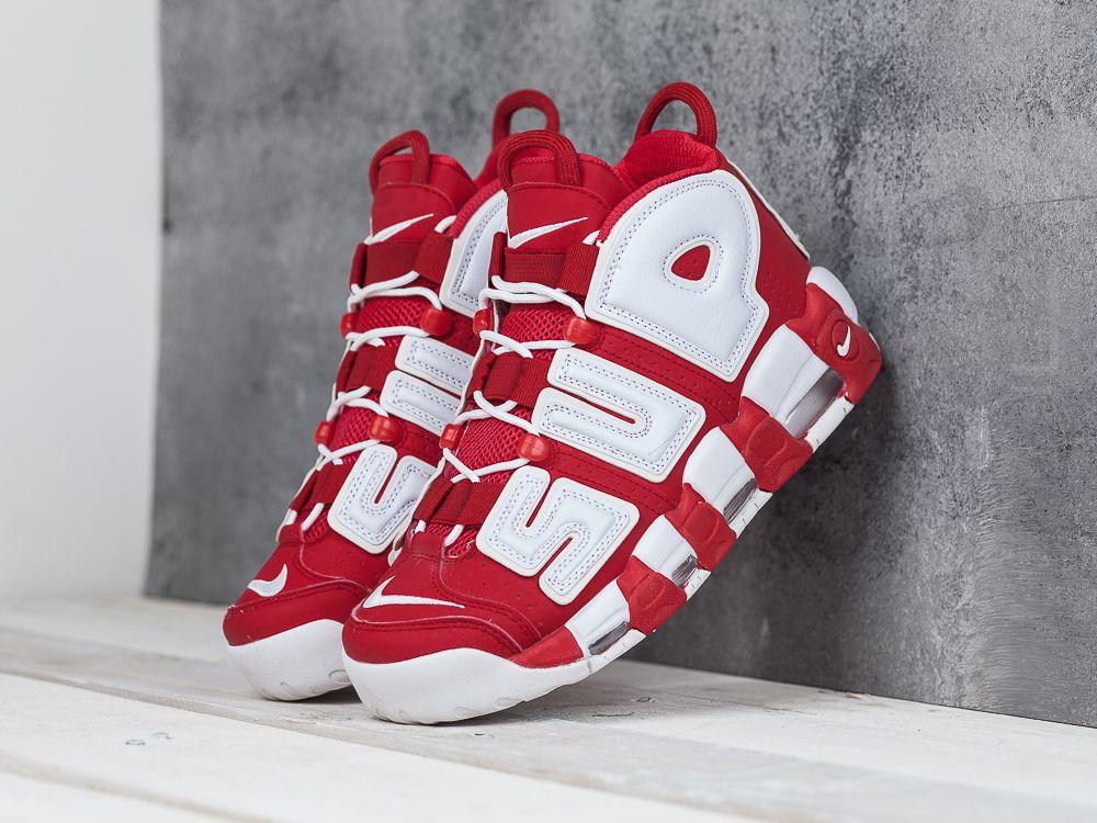 52672c4a Купить кроссовки Nike Air More Uptempo красные мужские 647-01 в ...